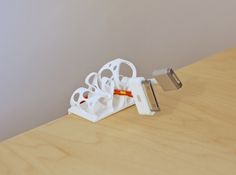 Loops & Cheese 3d printed Accessories Desk Toys Loops & Cheese holding cables