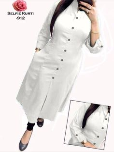 contect :- 9557374548 ----Jf Present ---Samntha kurti ---Fabric : Slub Cotton ---Full Stitched Readymade ----Size : XXL 44 ---Neckline : round nack ---Sleeves : thSleeves ---Rate :- 749 Salwar Designs, Kurti Designs Party Wear, Blouse Designs, Suits For Women, Clothes For Women, Ladies Suits, Ladies Wear, Trendy Fashion, Fashion Outfits
