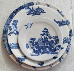 New take on Willow Pattern  Mervyn Gers