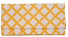 another possibility for the kitchen. Fabric Roman Shades, Yellow Bamboo, Shades Blinds, Window Panels, Beautiful Kitchens, Colorful Interiors, Window Treatments, Handmade Gifts, Kitchen Ideas