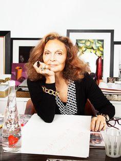Diane von Furstenberg's Best Career Advice Ever via @MyDomaine