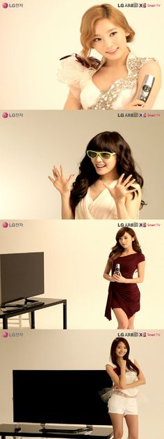 Create Your Own Girls' Generation CF with LG Electronics 'Girls' Generation 3D TV Player'