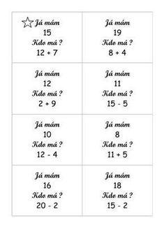 Bingo, Math 2, Homeschool, Teacher, Education, Numbers, Anna, Shapes, Sewing