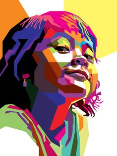 How to Create a Geometric, WPAP Vector Portrait in Adobe Illustrator #lowpoly #photoshoptutorials