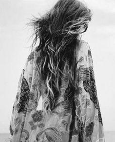Bohème - Hippie boho hair blowin in the wind