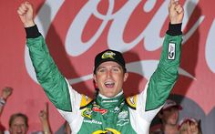 Kasey Kahne wins the Coca Cola 600 - Charlotte  (First win with Hendrick)
