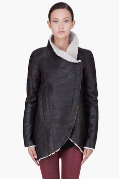 Shearling Jacket by Helmut Lang