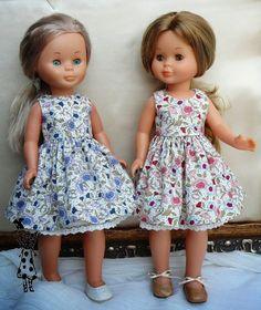 ANILEGRA COSE PARA NANCY Baby Alive Doll Clothes, Baby Alive Dolls, Ag Dolls, Girl Dolls, Barbie Dolls, Cute Dresses, Flower Girl Dresses, Summer Dresses, Vestidos Nancy