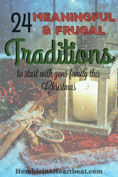 Awesome ideas for fun family Christmas traditions! I love the idea to make Christmas dinner for a family in need. Can't wait to start some of these this year!