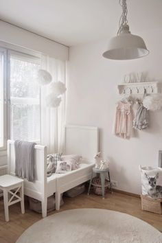 White is beautiful (especially combined with soft grey and a little bit of pink)...