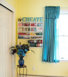 http://starrynightsdiva.hubpages.com/hub/Creating-the-Craft-Room-of-Your-Dreams