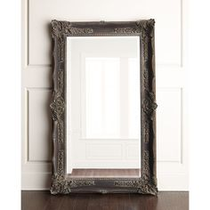 Antique French Floor Mirror ($595) ❤ liked on Polyvore featuring home, home decor, mirrors and inspirational home decor