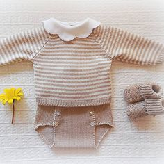 #baby #babyclothing #stripes #babyclothes #babysweater #beije #babybottoms #bottoms #bloomers #booties #babybloomers #babyknitwear #flower #booties #babyboy #babygirl #yarn #instaknit #bebé #roupadebebé #babyspam #babyboutique #baby #babyfashion #handmade #mariacarapim #wool