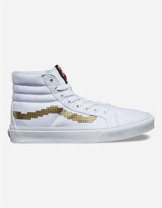 efd1b117a4 VANS x NINTENDO CONSOLE GOLD SK8 Hi SLIM Women SIZE 8  fashion  clothing