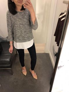 office outfits for young professionals Loft Outfits, Casual Work Outfits, Office Outfits, Work Casual, Office Wear, Stylish Outfits, Teacher Outfits, Outfit Work, Teacher Clothes
