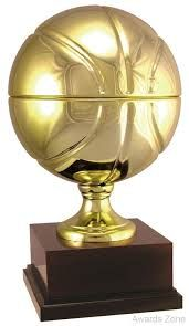 Isaac Reached For A Basketball Trophy From The Shelf Above Bed And Then Held