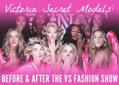 Before & After: Victoria's Secret Fashion Show @ The Trend Boutique
