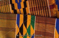 Kente cloth, Tafi Abuipe, Volta region, Ghana