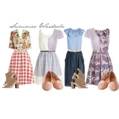 Gear up for a vintage-inspired spring and summer with these cute outfits ideas! #vintage