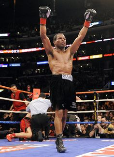 """Boxing: Mosley To Retire  After """"Sugar"""" Shane Mosley was manhandled by 21-year-old junior middleweight titlist Saul """"Canelo"""" Alvarez -- who is the same age as Mosley's oldest son, in a near shutout decision loss on May 5 in Las Vegas. One month later, Mosley made it official, announcing his retirement on Monday.  keepinitrealsports.tumblr.com  keepinitrealsports.wordpress.com  Mobile- m.keepinitrealsports.com"""