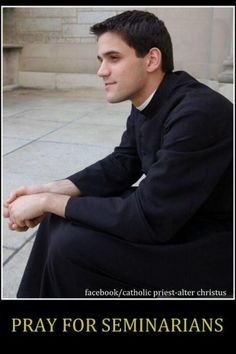 Future priests need our prayers