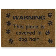 Dog Hair Door Mat. Pretty sure I need this in my life! #lol