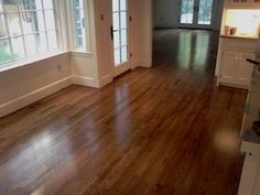 "white oak -1 part provincial and 1 part dark walnut -top 3 Bona""Woodline"" Semi-gloss   The Chelsea Company, Wellesley, MA"