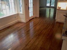 Dark Walnut Stain On White Oak Hardwood Remodel 1 Floors
