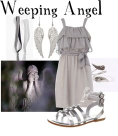 Have a Happy Halloween! Let's celebrate with some Doctor Who monsters and aliens! Weeping Angel