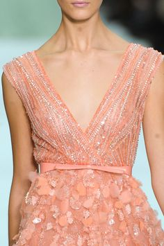 Elie Saab at Couture Spring 2012.