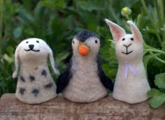 hand felted