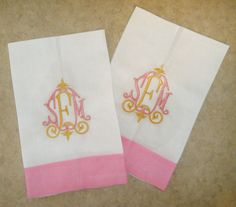 Love the two color monogram on these linen towels!  http://www.monogramsetc.net/store/WsDefault.asp?One=190