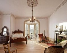 Old Farmhouse Interior | The historic landmark is now restored to its original glory, acting as ...