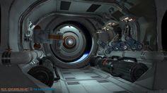 ArtStation - Sci-fi environment exploration, Edvard Svensson