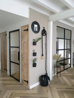 Home Decor Inspiration, House Design, Interior, Interior Styling, Home Decor, Scandinavian Style Home, House Interior, Home Deco, Glass Doors Interior