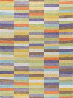 Masterful strokes create this intelligent abstract contemporary area rug design. Brilliant colors offer a lively contrast to traditional decor. Acrylic chenille