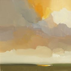 "robert roth landscape #34 2012  (36"" x 36"" acrylic, oilstick on canvas)"