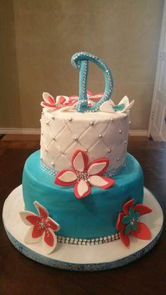 My birthday cake!! Absolutely luv it.. Deb's
