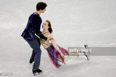 VANCOUVER, CANADA - FEBRUARY 06: Tessa Virtue and Scott Moir skate during the Dance Free Skate during the ISU Four Continents Figure Skating Championships at Pacific Coliseum February 6, 2009 in Vancouver, Canada. (Photo by Matthew Stockman/Getty Images)