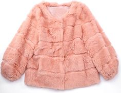 Helan Women's Short Faux Fur Coat