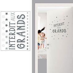 Interdit aux Grands wall sticker