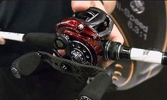 ICAST 2013:  Abu Garcia Revo Rocket.  A new baitcasting reel released from Abu Garcia atthe 2013 ICAST.  It features a 9:1 retrieve ratio, 11 bearings, and picks up 37 inches of line per turn.  It is an ideal reel for topwater and flipping baits where you would need to pick up the line fast.  $299.95