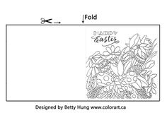 Today on our blog, we welcome our regular contributor colouring artist Betty Hung. Betty has designed this FREE April colouring card just for you! - CLICK HERE to download your card. Here is Betty's version of the card. She has coloured and created the card using Chameleon Pens. Visit Betty's  blog - Color Art -…