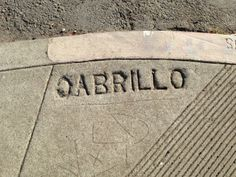 Backwards C on Cabrillo.  Read the full post here: http://urbanhikersf.blogspot.com/2013/09/concrete-mixer-upper-sidewalk-mistakes.html