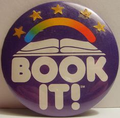 Book It! I love the 80's www.thebrighterwriter.blogspot.com
