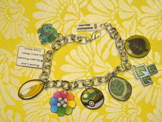 Grass Element Charm Bracelet Custom Pokemon by *kouweechi on deviantART