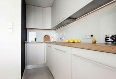 A modern kitchenette