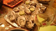 Lovely french oysters, hummm
