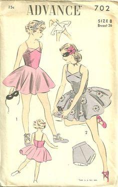 50s Dance costume pattern