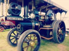Classic #Vintage #steamengine at the Smallwood rally